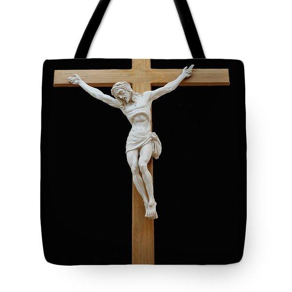SJNCC CRUCIFIX 1 TWO K ELEVEN Tote Bag by Carl Deaville