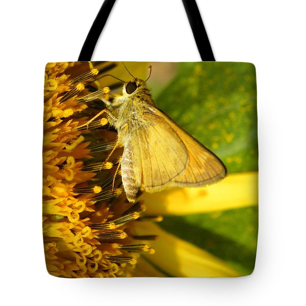 Skipper And Sunflower Tote Bag by Sandi OReilly