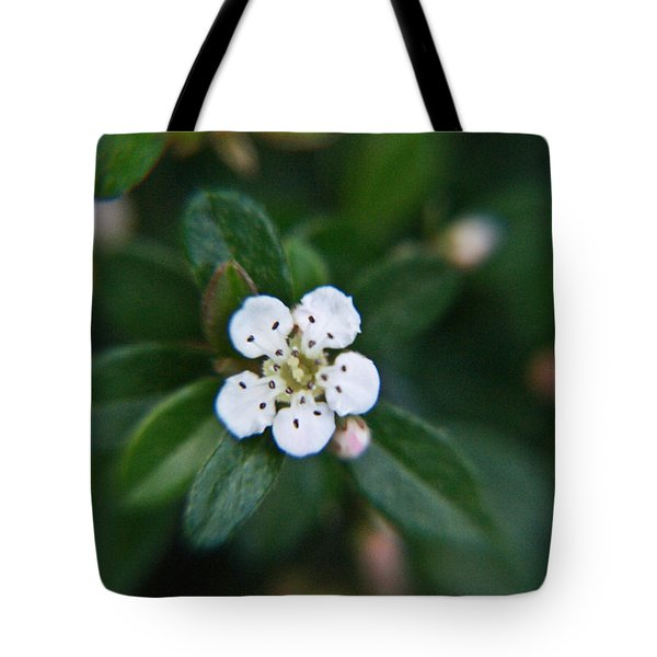 Skull Ghost Flower 2 Tote Bag by Douglas Barnett