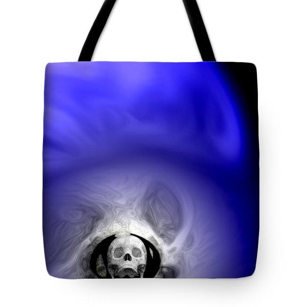 Skull Scope 1 Tote Bag by Adam Vance