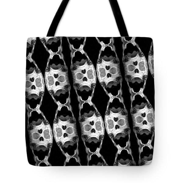 Skull Scope 6 Tote Bag by Adam Vance