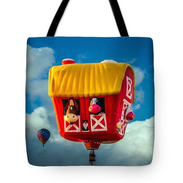 Sky Farming  Tote Bag by Bob Orsillo