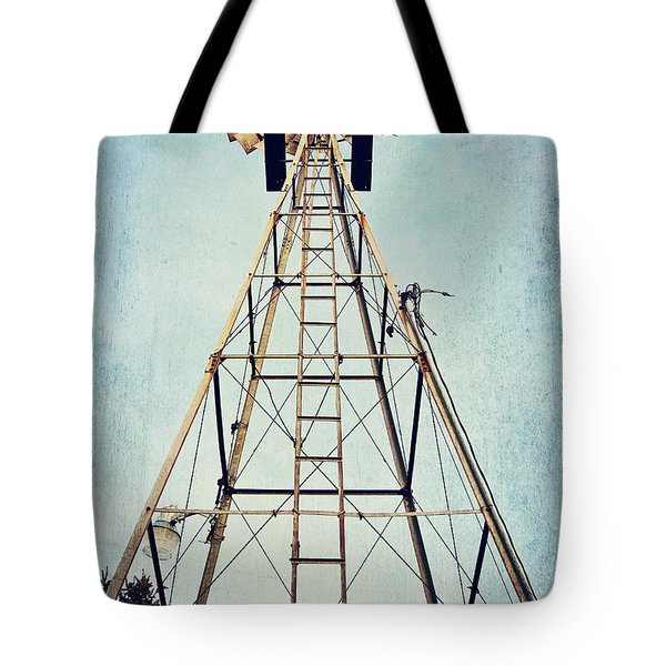 Sky High Tote Bag by Pam  Holdsworth
