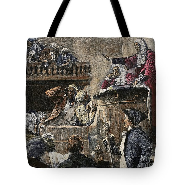 Slaves In Court, 1741 Tote Bag by Granger