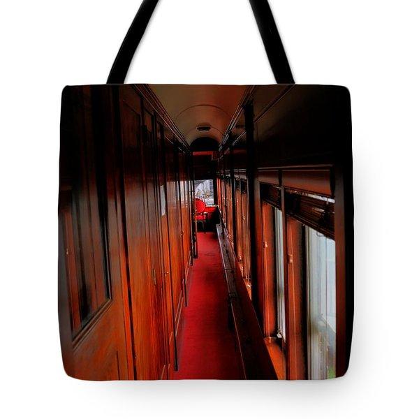 Sleeper Car Tote Bag by Dan Stone