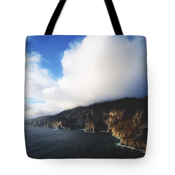 Slieve League, County Donegal, Ireland Tote Bag by The Irish Image Collection