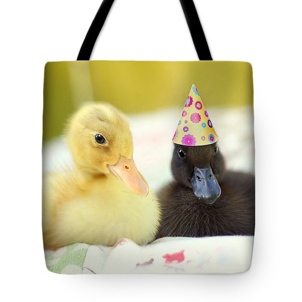 Slumber Party Tote Bag by Amy Tyler