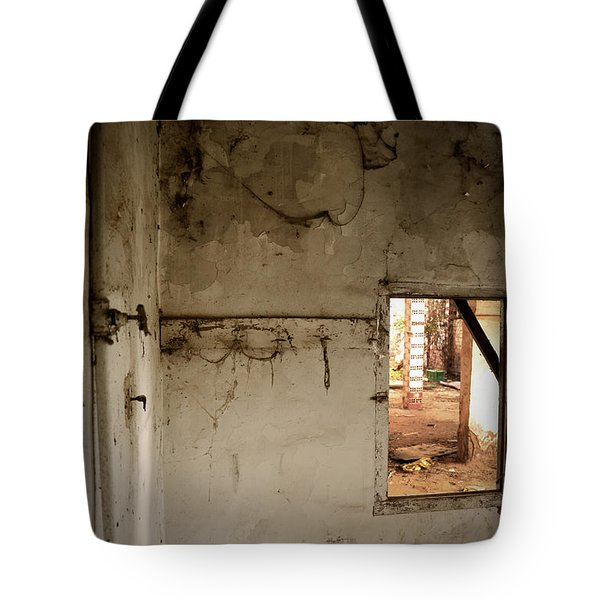 Small window in an abandoned kitchen Tote Bag by RicardMN Photography