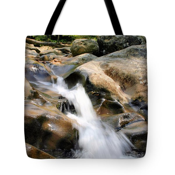 Smoky Mountain Flow Tote Bag by Kristin Elmquist