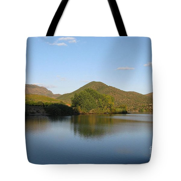 Smooth Sailing On The Douro Tote Bag by Arlene Carmel