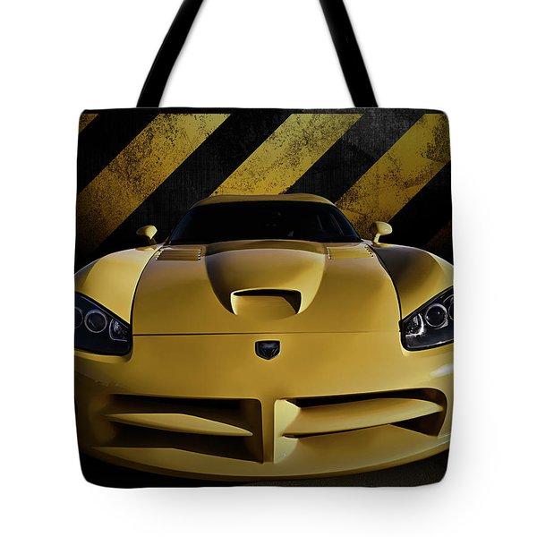 Snake Crossing Tote Bag by Douglas Pittman