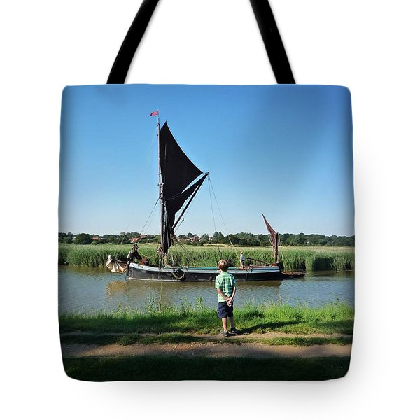 Snape Maltings Tote Bag by Charles Stuart
