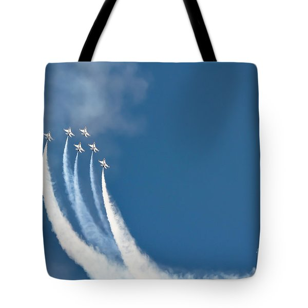 Soaring Tote Bag by Athena Lin