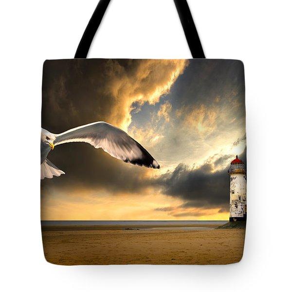 Soaring Inshore Tote Bag by Meirion Matthias