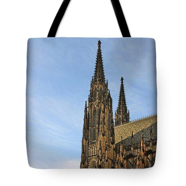 Soaring Spires Saint Vitus' Cathedral Prague Tote Bag by Christine Till