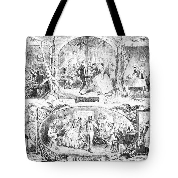 Social Activities, 1861 Tote Bag by Granger