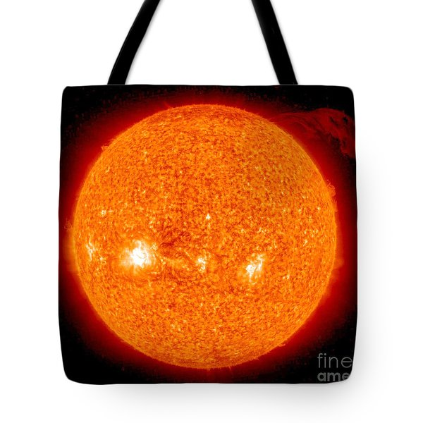 Solar Prominence Tote Bag by Nasa