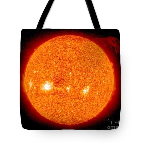 Solar Prominence Tote Bag by NASA