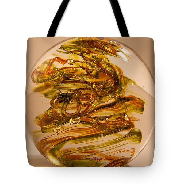 Solid Glass Sculpture R11 Tote Bag by David Patterson