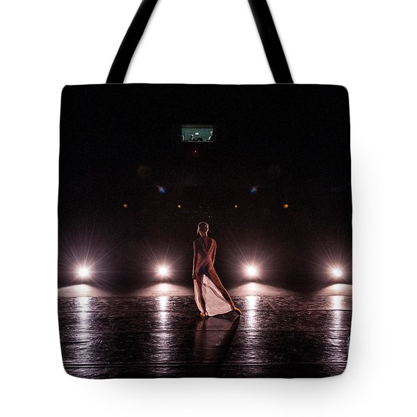 Solo Dance Performance Tote Bag by Scott Sawyer