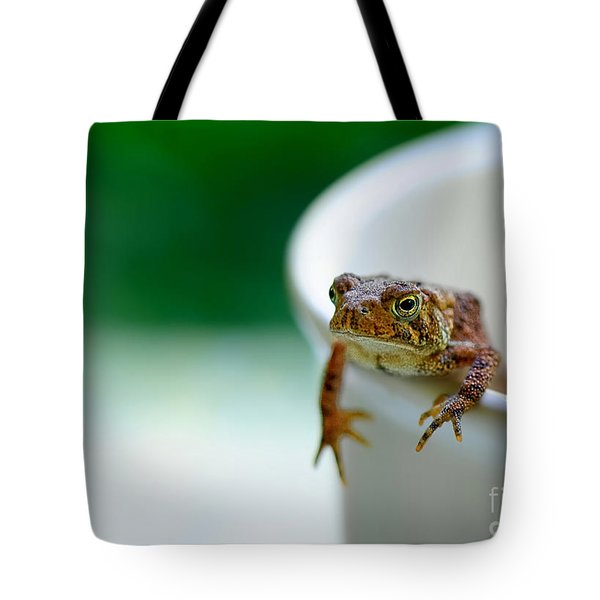 Somebody Needs Coffee Tote Bag by Lois Bryan