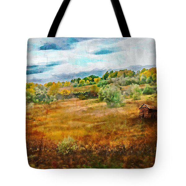 Somewhere in September Tote Bag by Brett Pfister