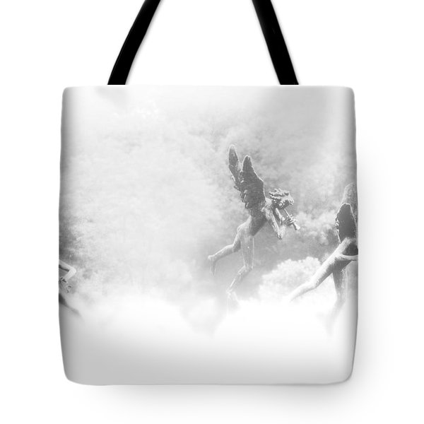 Song of the Angels Tote Bag by Bill Cannon