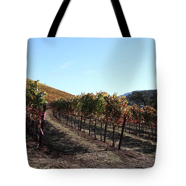 Sonoma Vineyards - Sonoma California - 5D19311 Tote Bag by Wingsdomain Art and Photography
