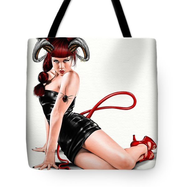 Sounds of Madness Tote Bag by Pete Tapang