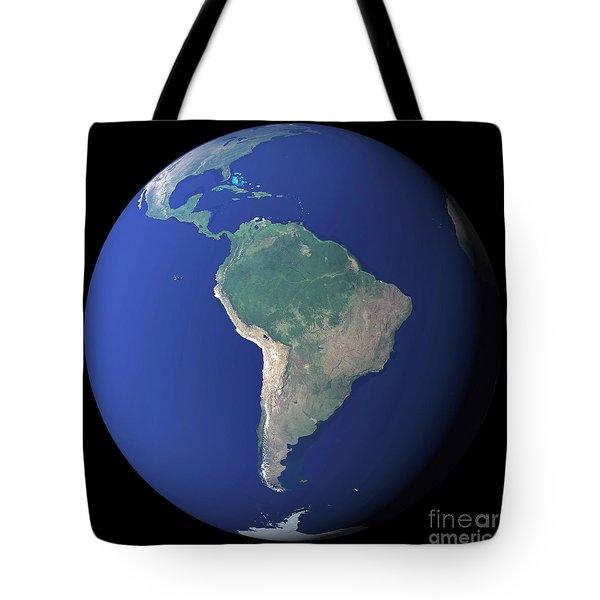 South America Tote Bag by Stocktrek Images