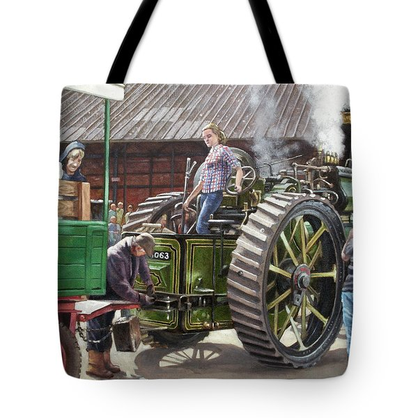 Southampton Bursledon Brickworks Open Day Picture 2 Tote Bag by Martin Davey
