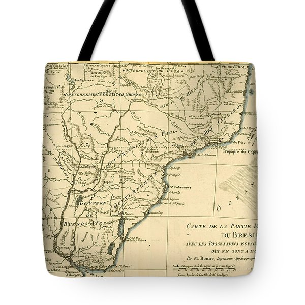 Southern Brazil Tote Bag by Guillaume Raynal