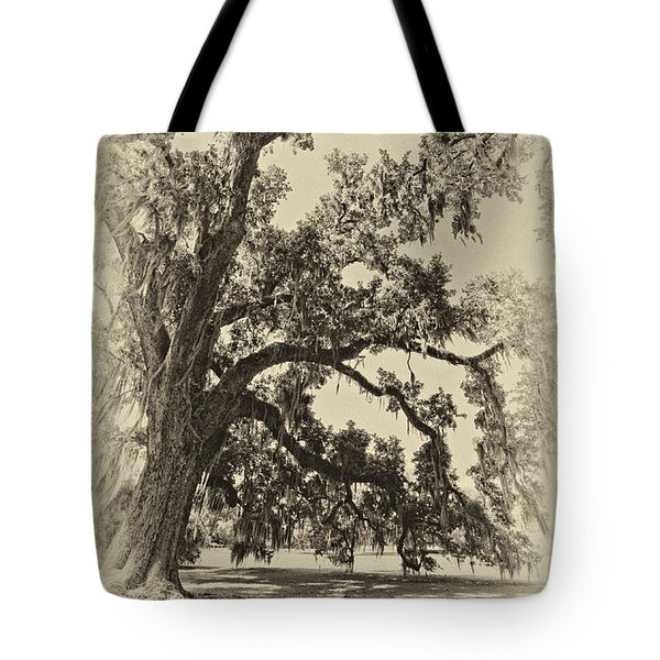 Southern Comfort sepia Tote Bag by Steve Harrington
