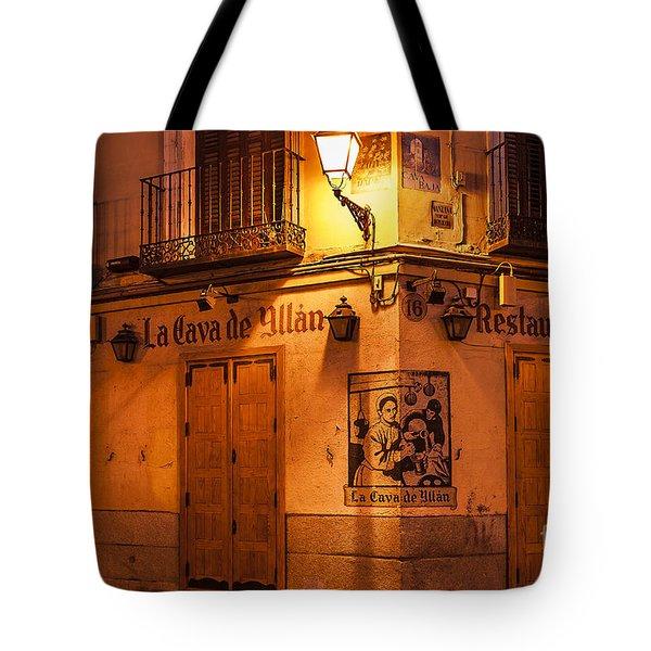 Spanish Taberna Tote Bag by John Greim