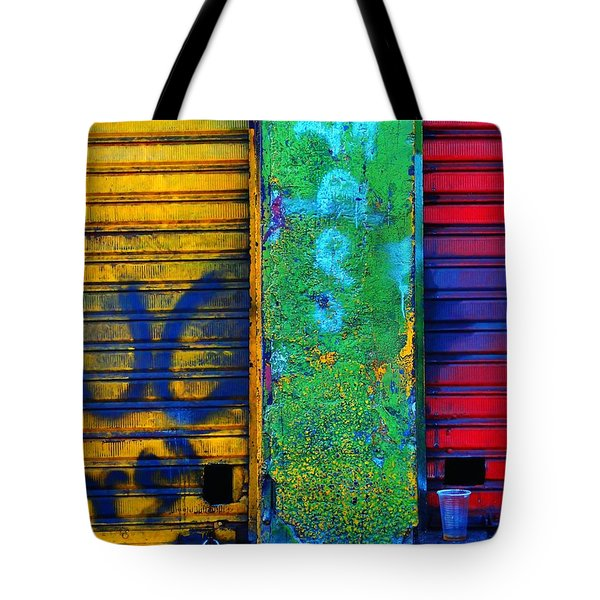 Spare A Spill Tote Bag by Skip Hunt
