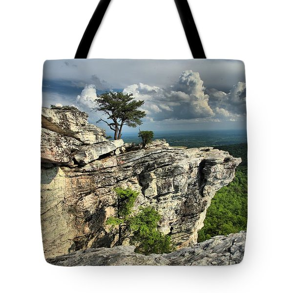 Sparse Vegetation Tote Bag by Adam Jewell