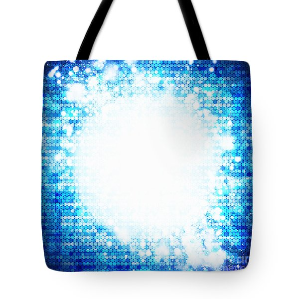 Sphere Energy Tote Bag by Setsiri Silapasuwanchai