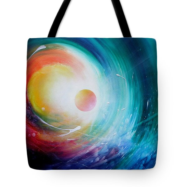 Sphere F31 Tote Bag by Drazen Pavlovic