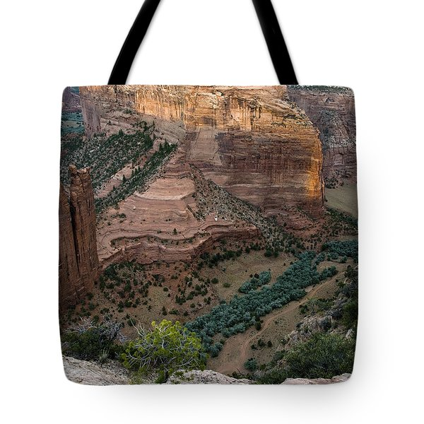 Spider Rock Vista Tote Bag by Dave Dilli