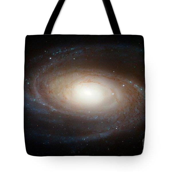 Spiral Galaxy M81 Tote Bag by Nasa