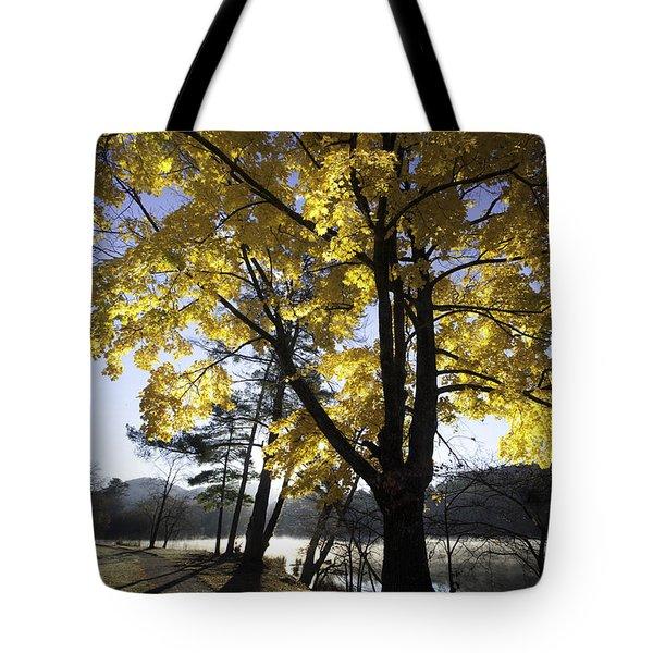 Spirit by the Lake Tote Bag by Rob Travis