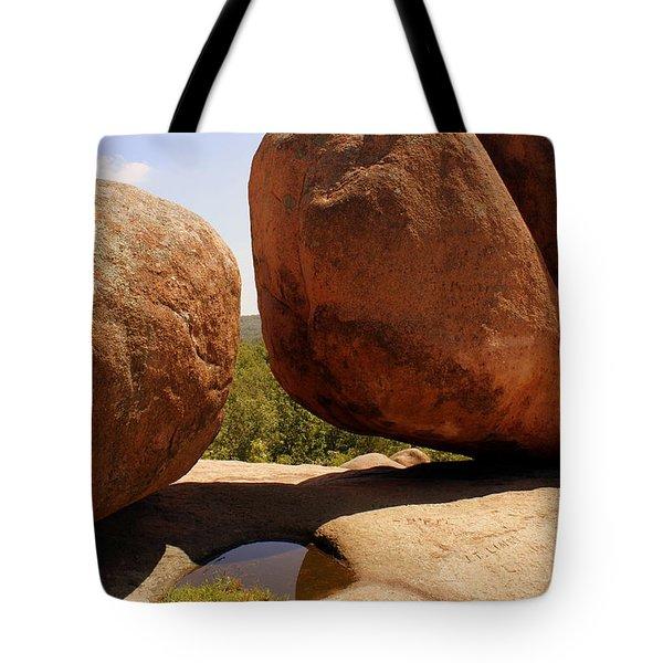 Split Bouuder Tote Bag by Marty Koch