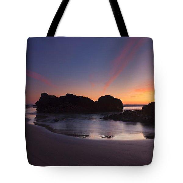 Splitting The Heavens Tote Bag by Mike  Dawson