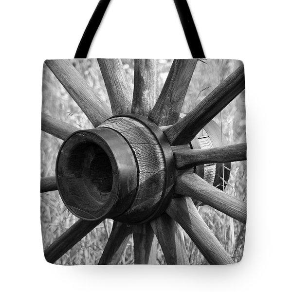 Spokes Tote Bag by Ernie Echols