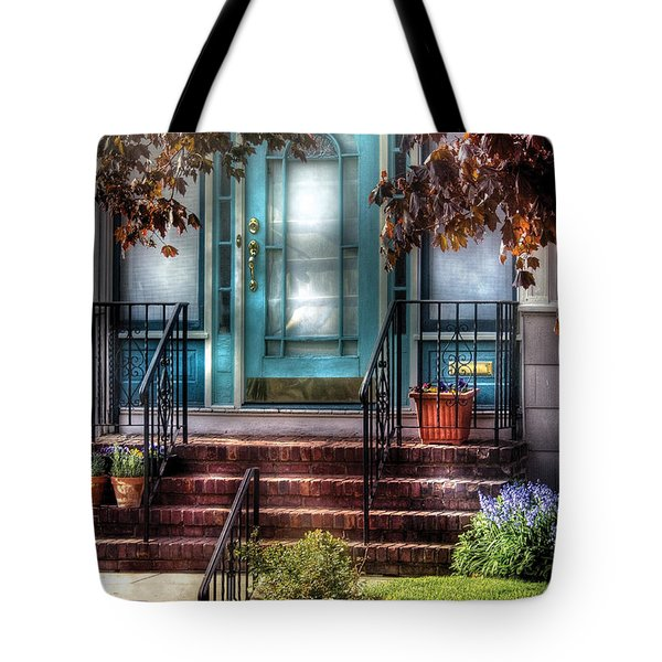 Spring - Door - Apartment Tote Bag by Mike Savad