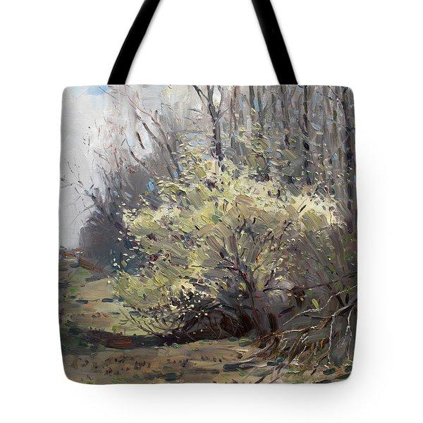 Spring Blossom Tote Bag by Ylli Haruni