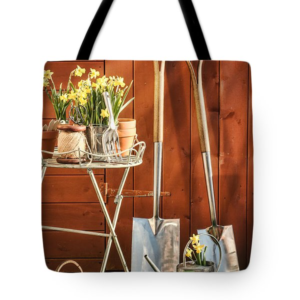 Spring Gardening Tote Bag by Amanda And Christopher Elwell