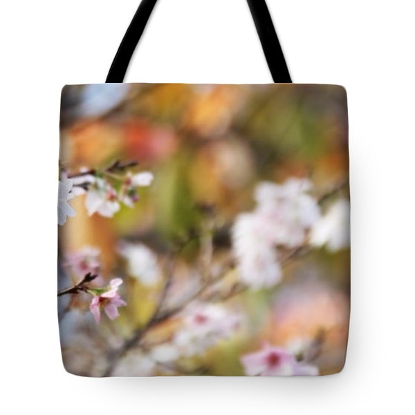 Spring In Autumn Tote Bag by Eena Bo
