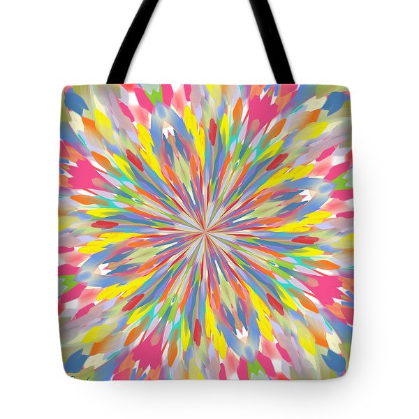 Spring Is Bursting Out Tote Bag by Alec Drake