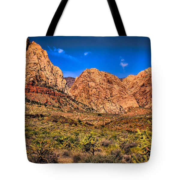 Spring Mountain Ranch In Red Rock Canyon II Tote Bag by David Patterson
